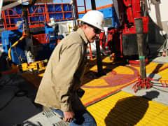 Oil gas drilling Texas
