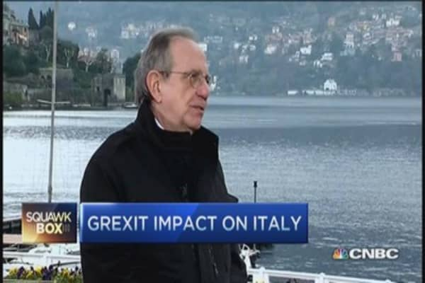 'Grexit's' fallout on Italy