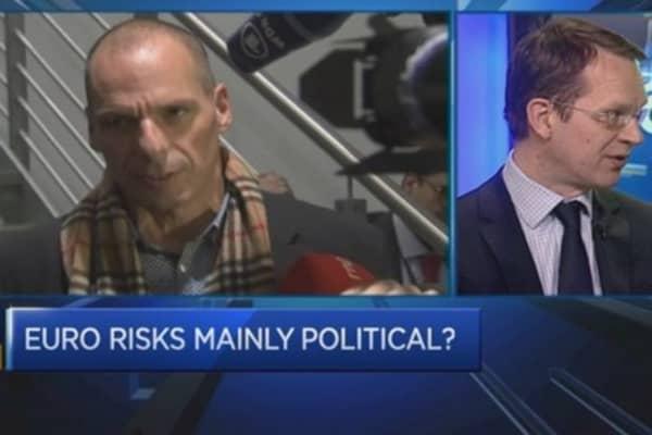 Greek and German relations hit low ebb