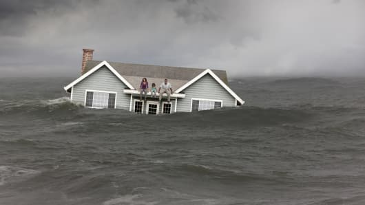 House under water mortgages