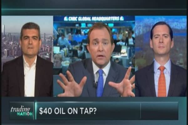 Is $40 oil on tap?