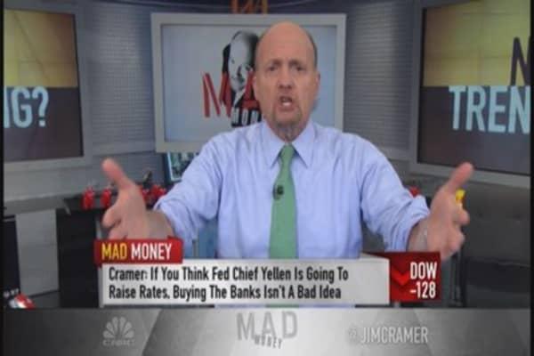 Cramer: Market cross currents