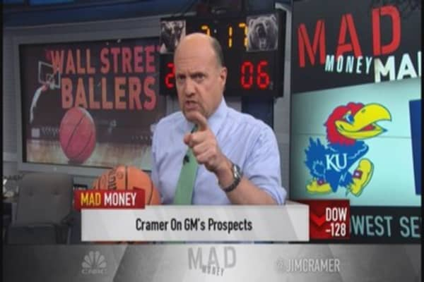 Find stock winners with Cramer's NCAA picks