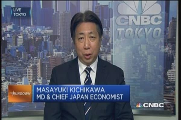 Here's the encouraging news for Japan inflation