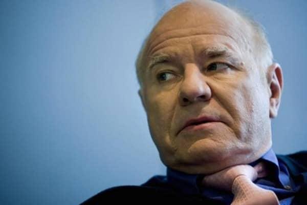 'Dr. Doom's' bearish swipe at central banks