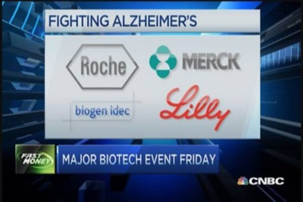 Biogen's big news: Alzheimer data on deck