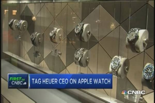 TAG Heuer CEO on smartwatch