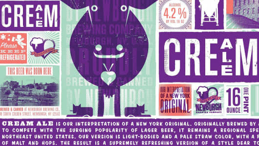 Newburgh Brewing Co. Cream Ale