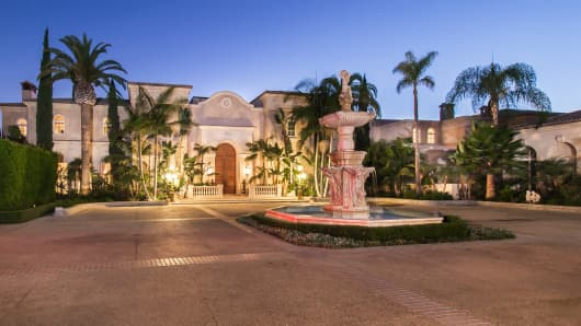 The Palazzo di Amore, in Beverly Hills, is on the market for $195 million.