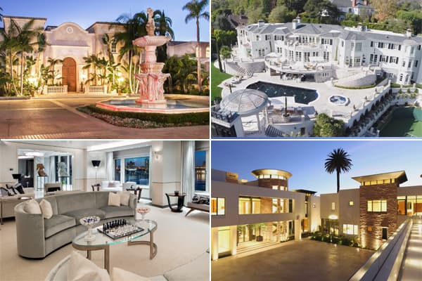 Empty megamansions of the super rich for Super mega mansions