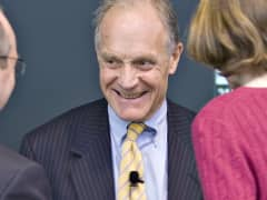 Charles Ellis smiling