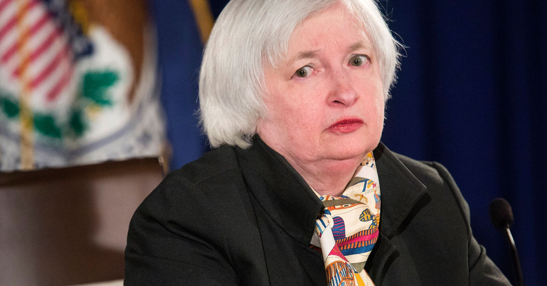 Image result for yellen crazy
