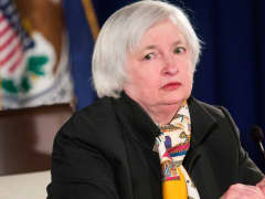 Janet Yellen speaking on March 18, 2015.