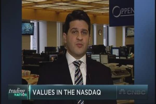 Are there still values in the Nasdaq?
