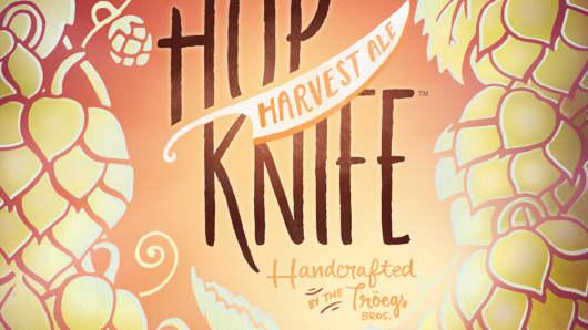Troegs Bros. Hop Knife Harvest Ale
