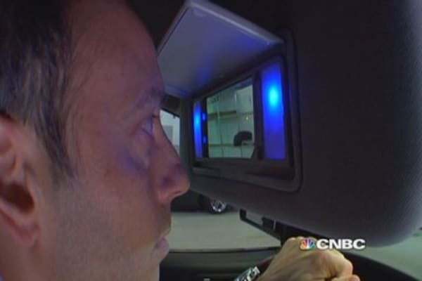Eye scan identifies drivers