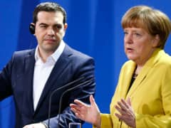 Angela Merkel Alexis Tsipras Germany Greece