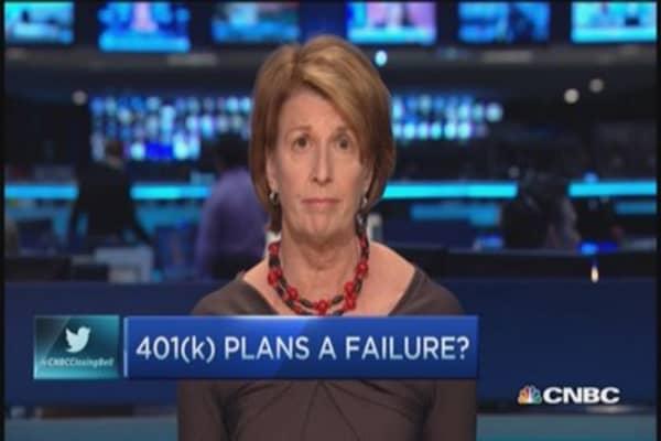 401(k) a failure?