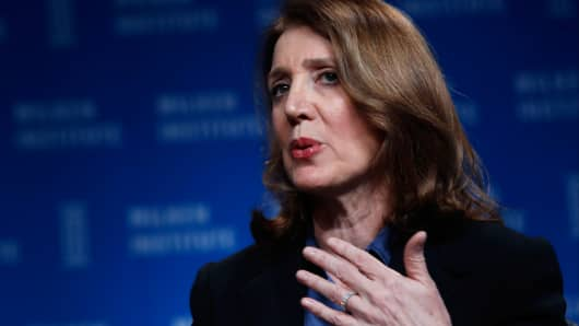 Ruth Porat, chief financial officer of Morgan Stanley.