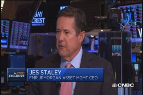 Are banks safer? Jes Staley's view