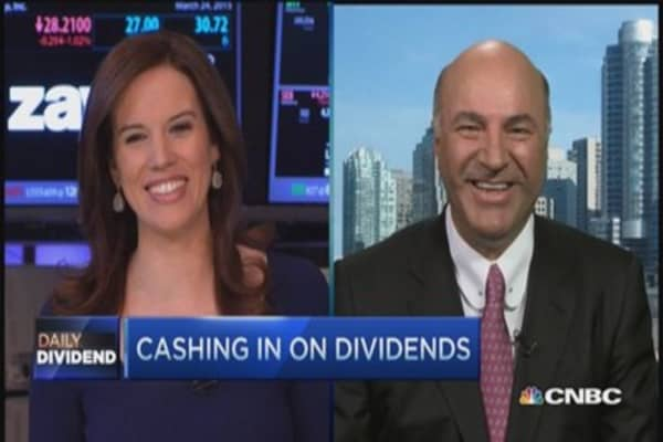 'Daddy Dividend' O'Leary still a believer