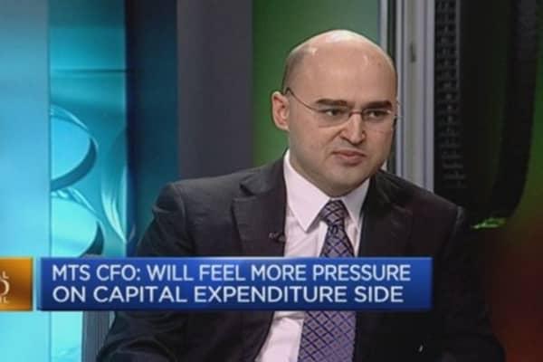 Ruble decline hits capex: MTS CFO