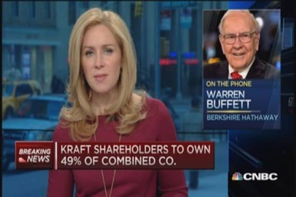 'Krafty' deal 'matter of negotiations': Warren Buffett