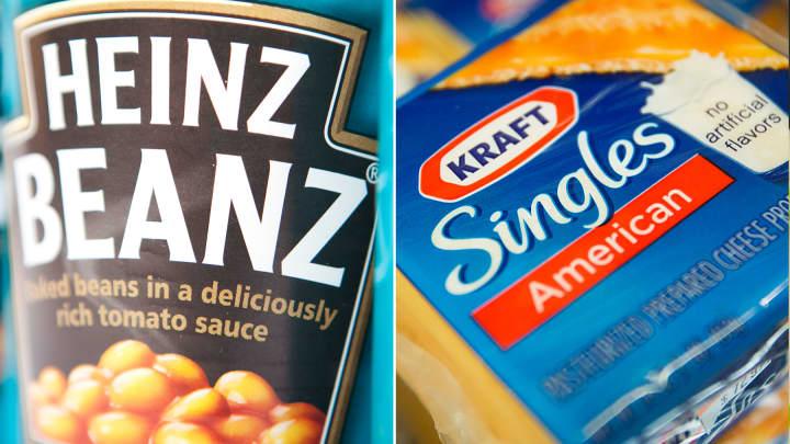 Heinz and Kraft Foods to merge.
