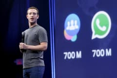 Facebook CEO Mark Zuckerberg speaks during his keynote address at Facebook F8 in San Francisco, California March 25, 2015.