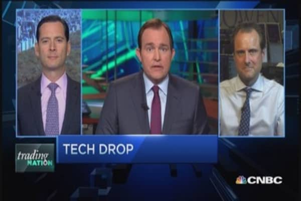 Trading Nation: Tech Drop