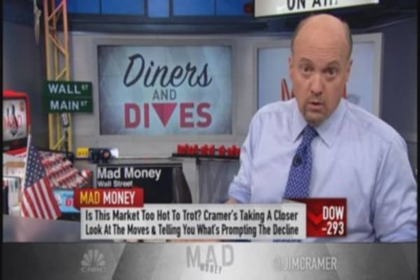 Cramer: Nasdaq's griddle too hot