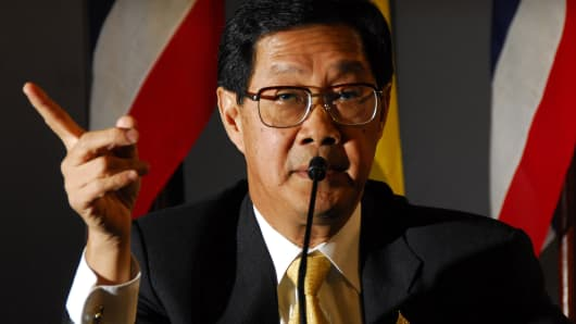 THAI FINANCE MINISTER