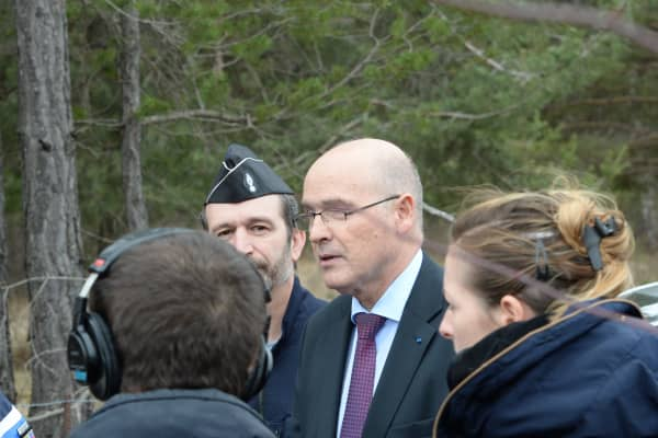 French public prosecutor of Marseille Brice Robin