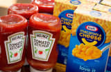 Kraft Macaroni & Cheese and Heinz Tomato Ketchup