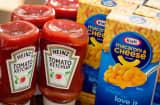Kraft Macaroni & Cheese and Heinz Tomato Ketchup