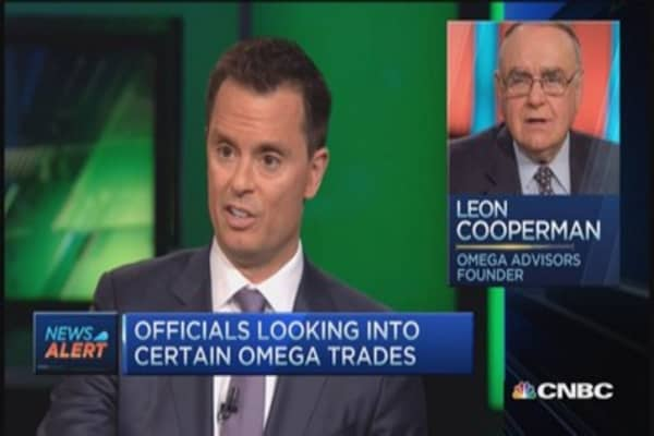 Cooperman to CNBC: No allegation of wrongdoing