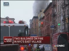 Major building collapse in NYC