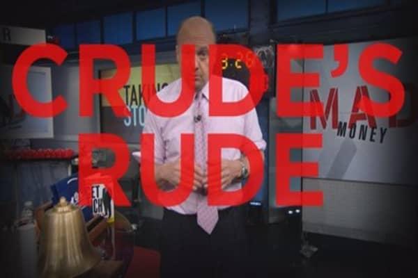 Cramer: I'm Making A Call On Oil Unrest