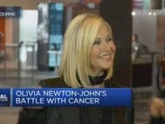 Olivia Newton-John on wellness