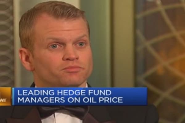 Hedge fund managers on oil