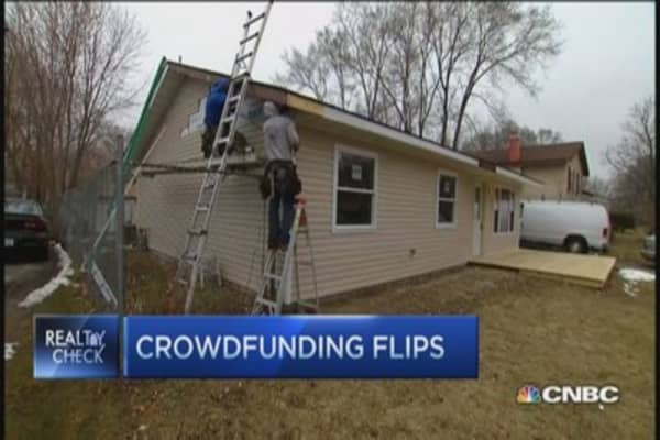 Crowdfunding for house flippers
