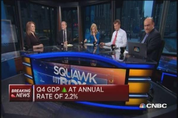 US Q4 GDP remains at 2.2%, corporate profits drop
