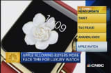 CNBC update: Sample the Apple Watch