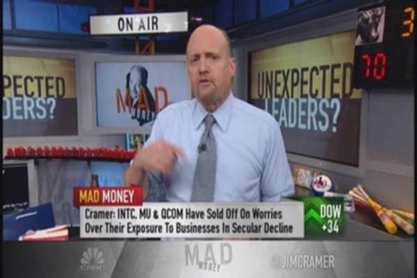 Four horsemen of semis & biotech: Cramer