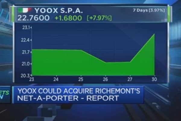 Yoox to buy Net-a-Porter?