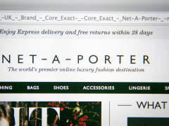 Online fashion luxury retailer Net-a-Porter