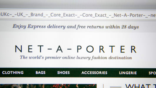 Net-a-Porter website