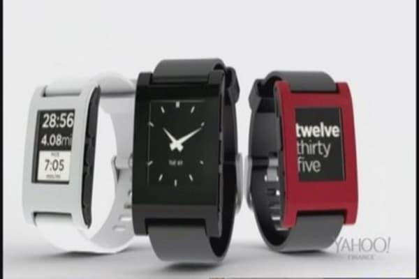 Pebble Watch funding hits milestone