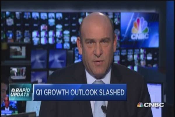 Q1 GDP estimates revised