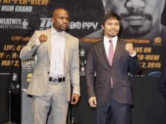 Profesional Boxers Floyd Mayweather and Manny Pacquiao